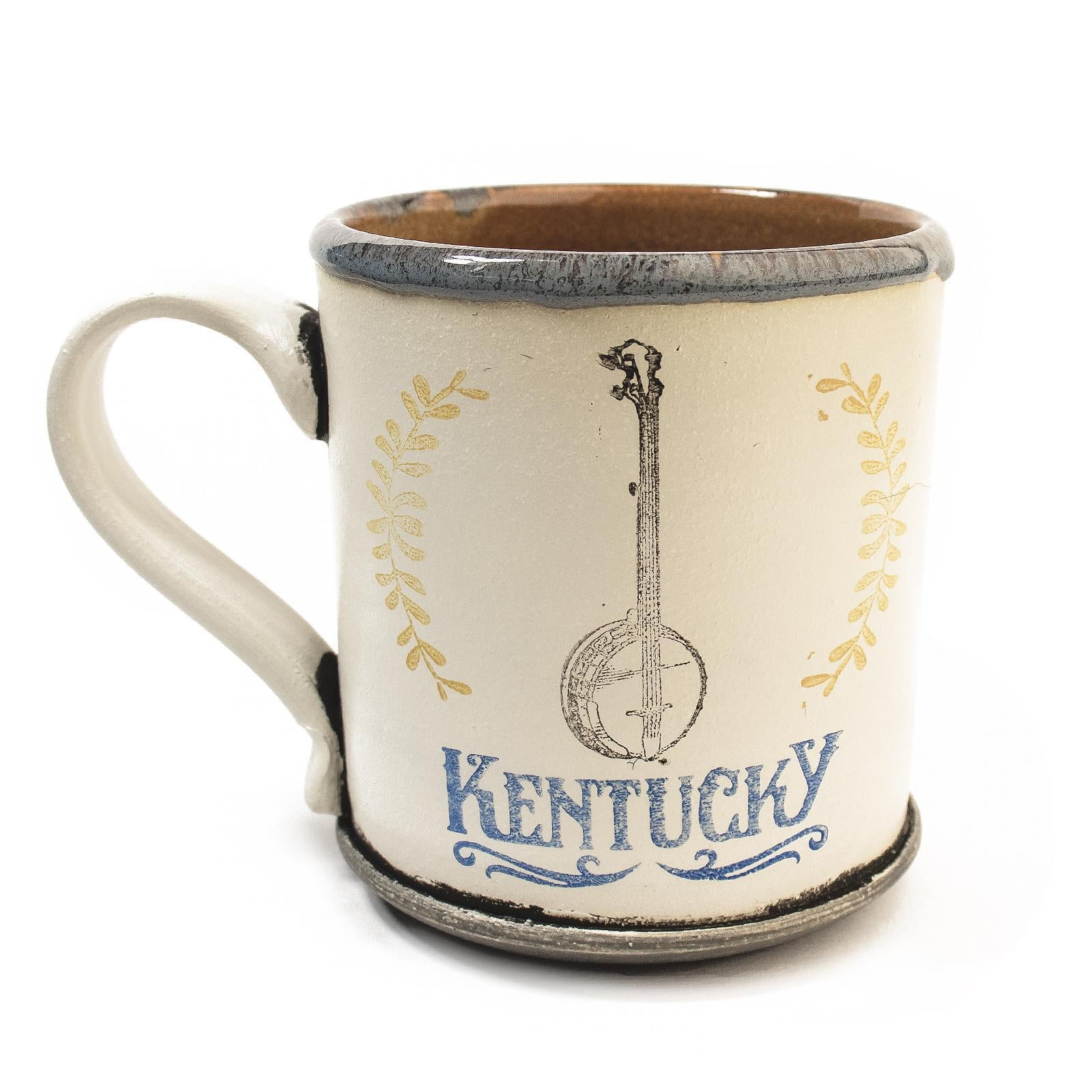 Kentucky Banjo Mugs by David Kenton Kring-Glass-KY for KY Store