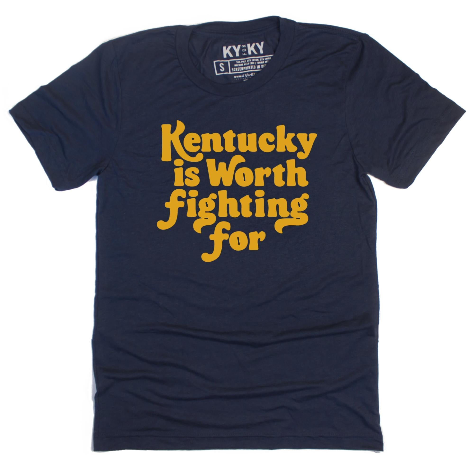 Kentucky Is Worth Fighting For T-Shirt-T-Shirt-KY for KY Store