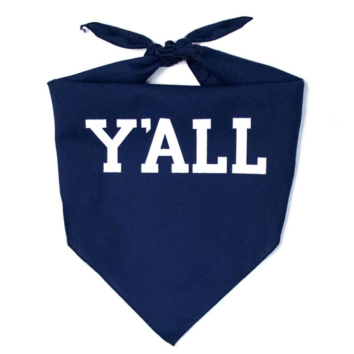 Y'ALL Dog Bandana-Dog-KY for KY Store