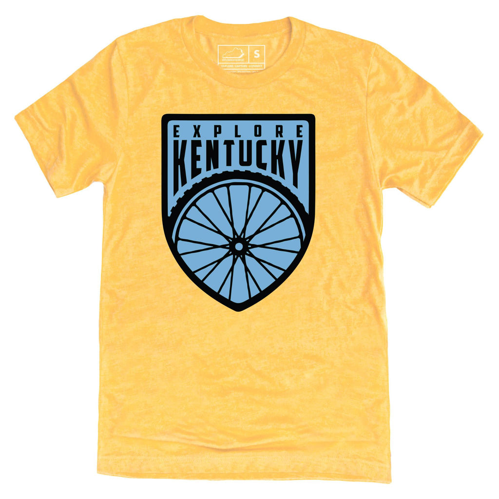 Explore Kentucky's Cycling Adventure T-Shirt-T-Shirt-KY for KY Store