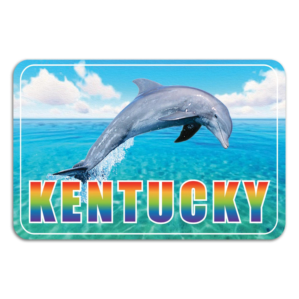 Kentucky Dolphins Sticker-Stickers-KY for KY Store
