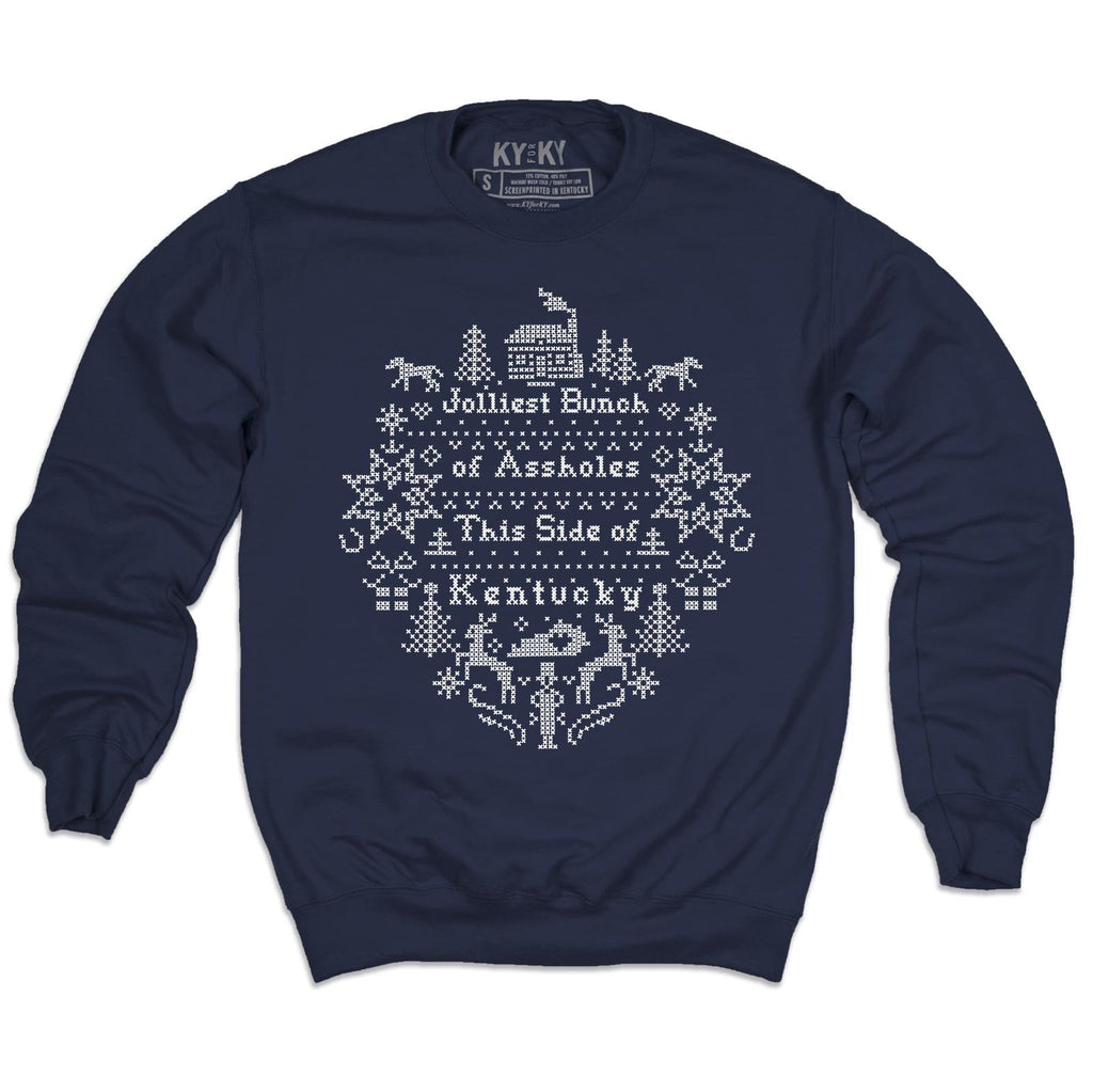 Jolliest Bunch Sweatshirt-Sweatshirt-KY for KY Store