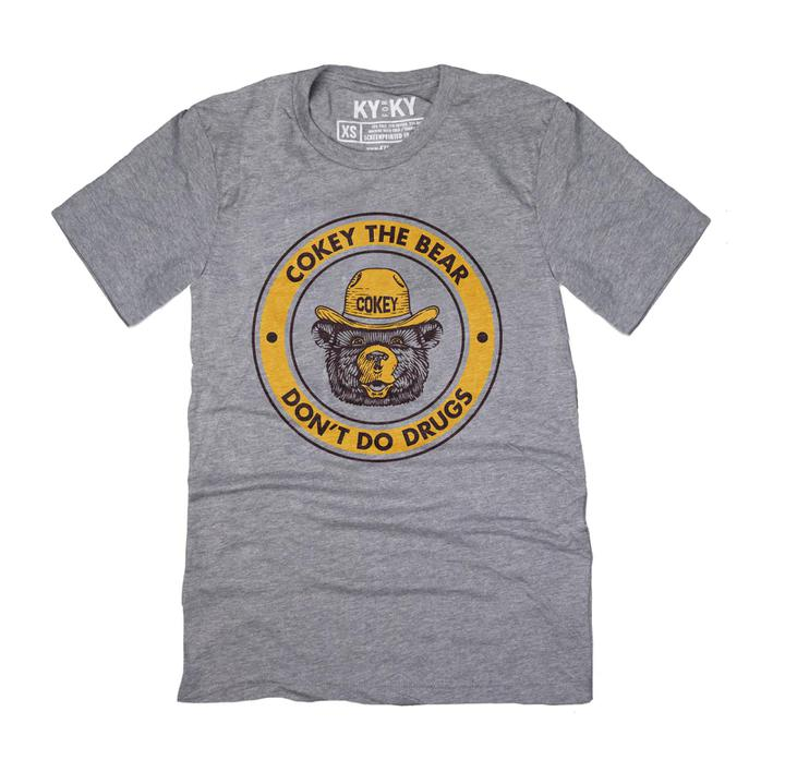 Cokey The Bear T-Shirt-T-Shirt-KY for KY Store