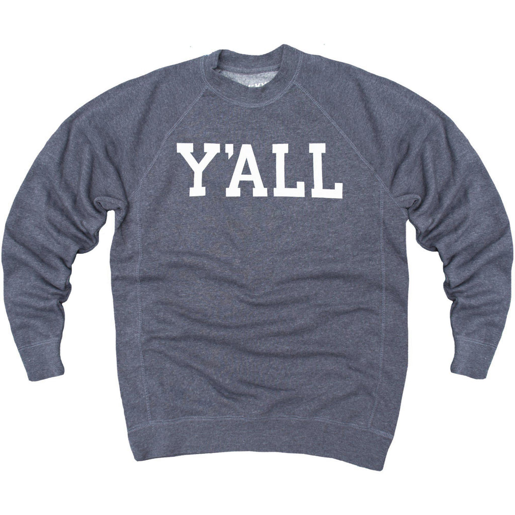 Y'ALL Sweatshirt (Navy)-Sweatshirt-KY for KY Store