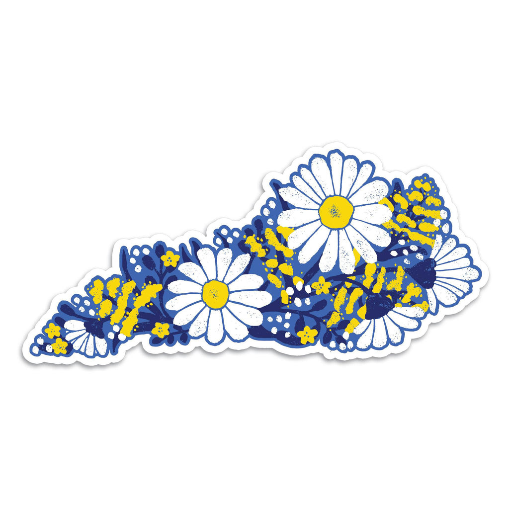 Flower KY Sticker-KY for KY Store