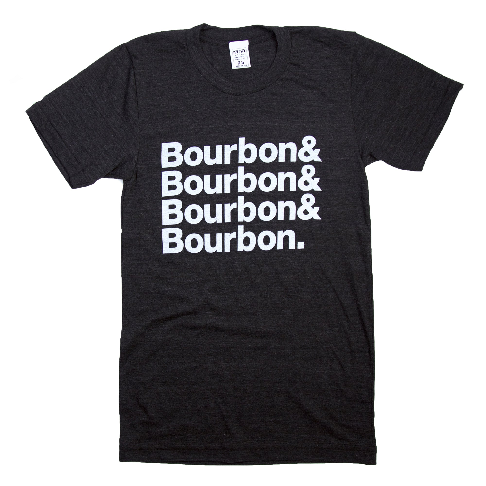 Bourbon and Bourbon T-Shirt-T-Shirt-KY for KY Store
