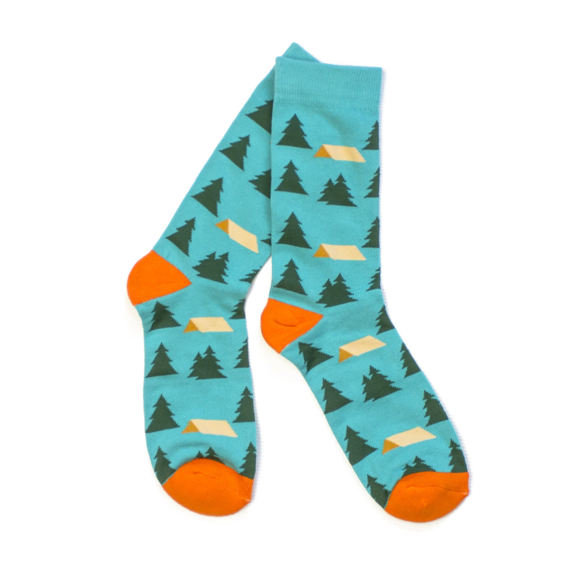 Happy Camper Socks-Socks-KY for KY Store