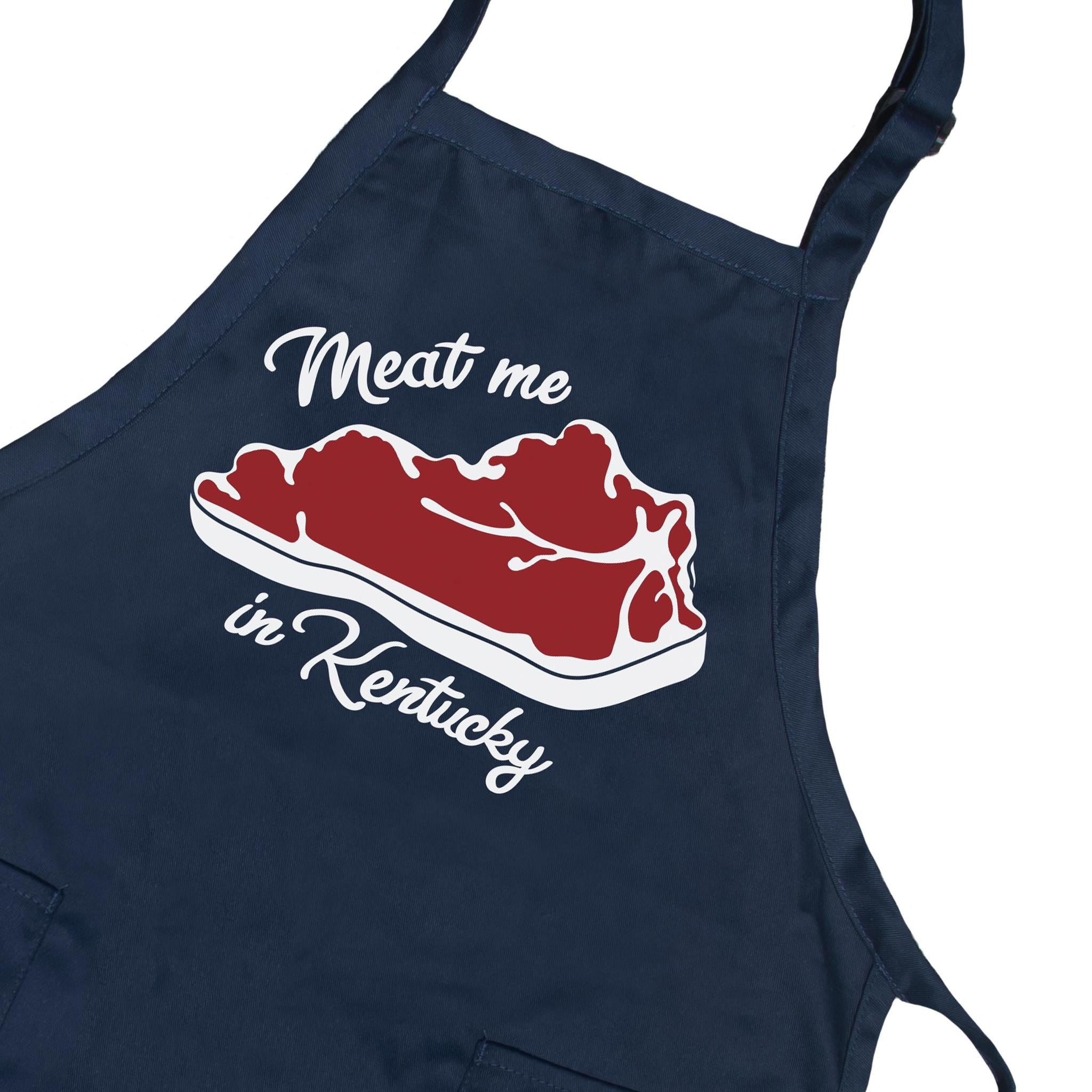 Meat Me In Kentucky Apron-Odds and Ends-KY for KY Store