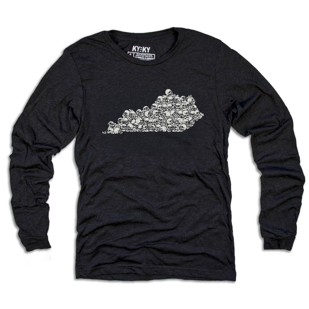 Long Sleeve KY Bones Shirt-T-Shirt-KY for KY Store