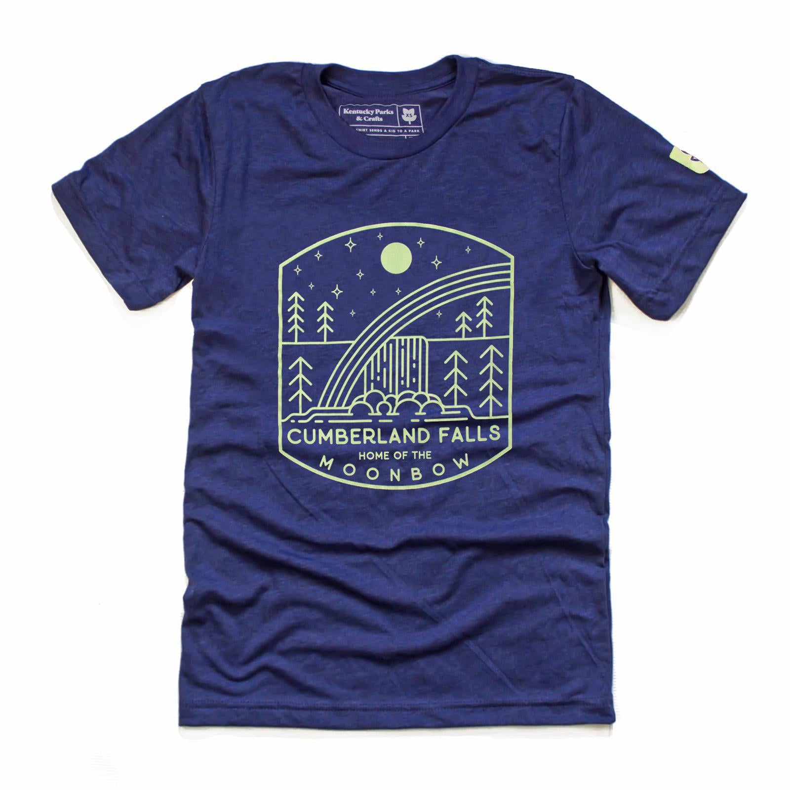Moonbow Falls T-Shirt-Parks-KY for KY Store