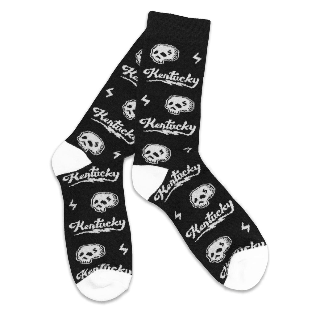 Kentucky Skull Socks-Socks-KY for KY Store