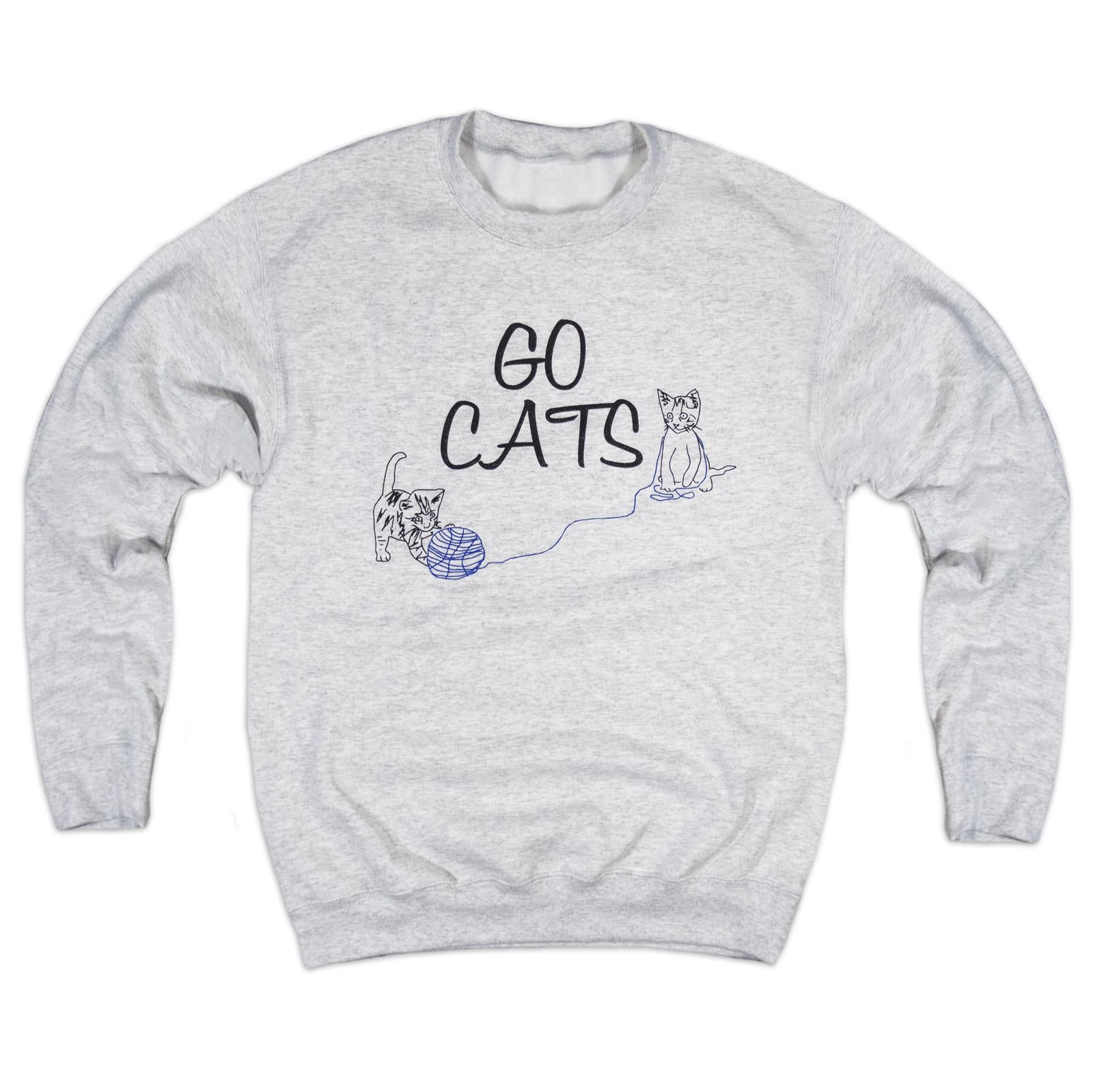 Go Cats Sweatshirt-Sweatshirt-KY for KY Store
