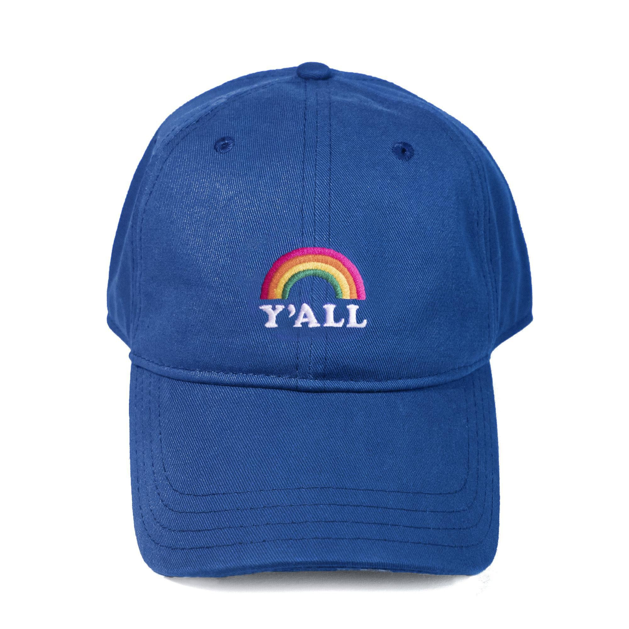 Y'all Rainbow Dad Hat-Hat-KY for KY Store