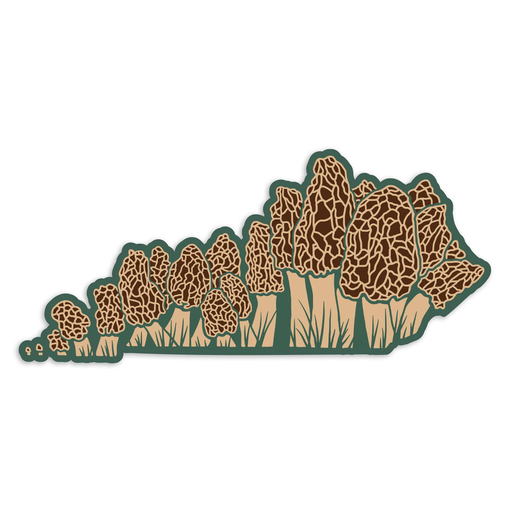 Morels KY Sticker-Stickers-KY for KY Store