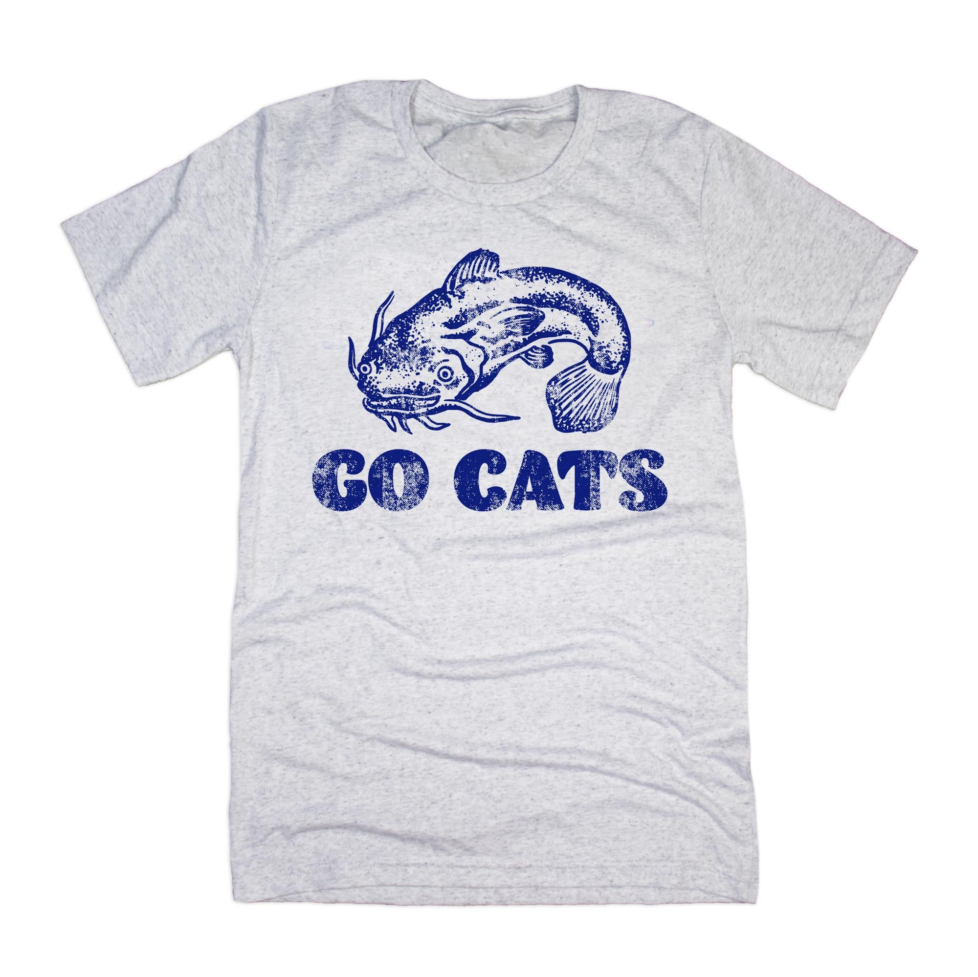 Go Catfish T-Shirt-T-Shirt-KY for KY Store