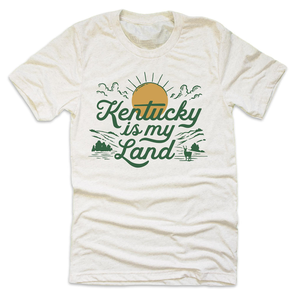 Kentucky Is My Land T-Shirt-T-Shirt-KY for KY Store