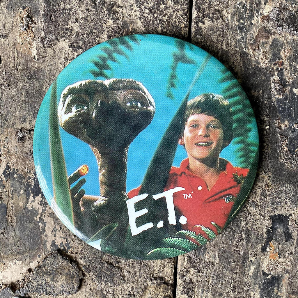 Vintage E.T. w Elliot Official Button-KY for KY Store