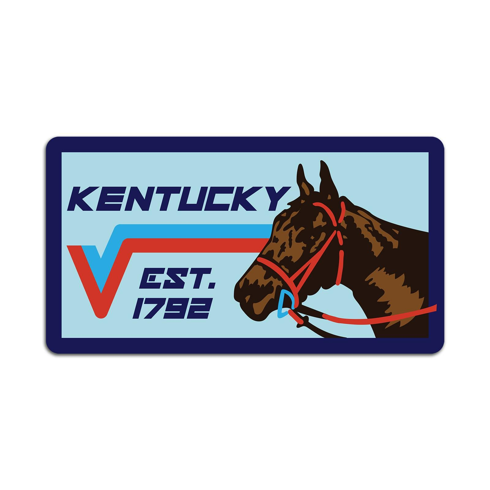 Ky Horse Sticker-KY for KY Store