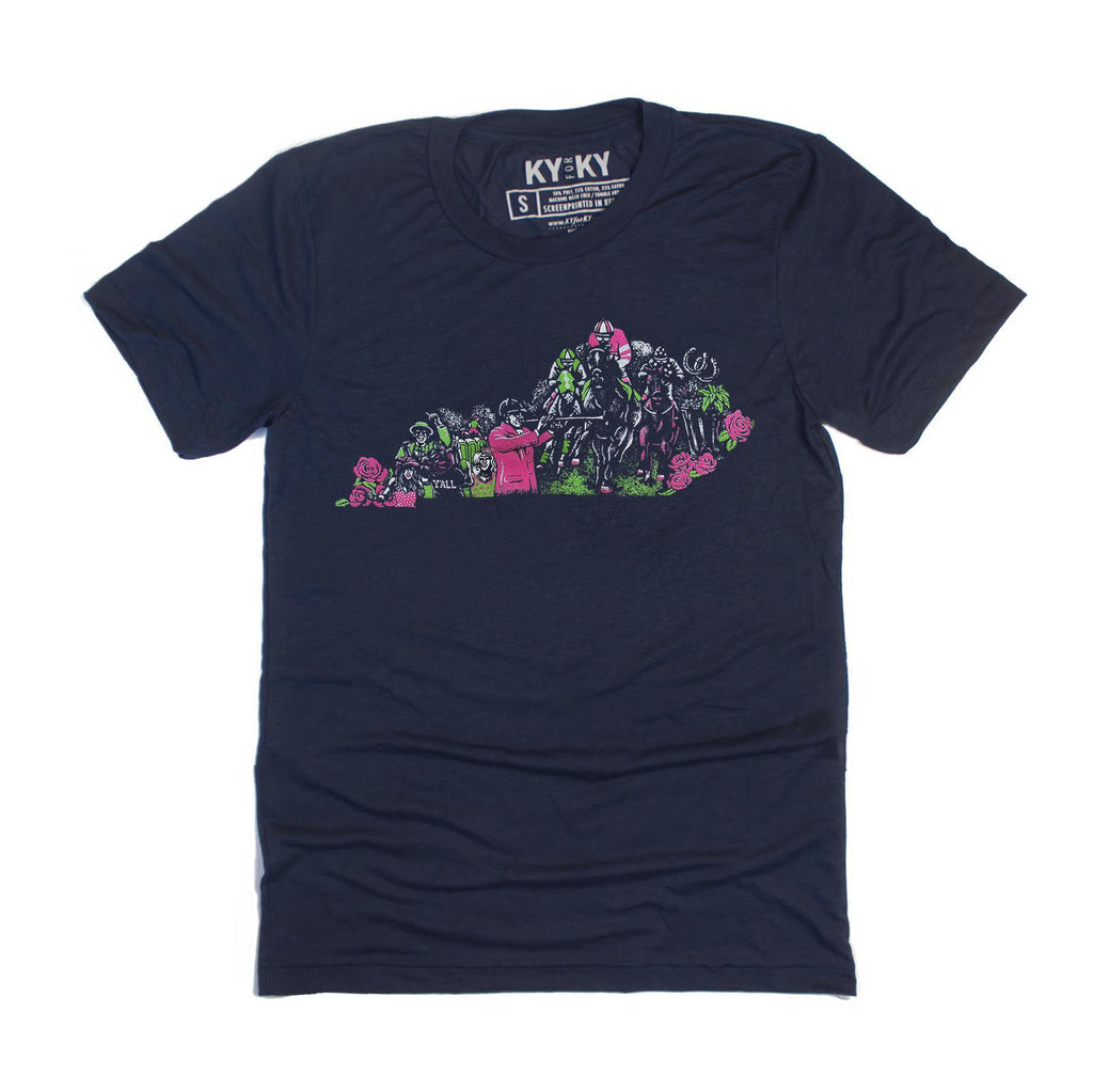 Down & Derby T-Shirt-T-Shirt-KY for KY Store