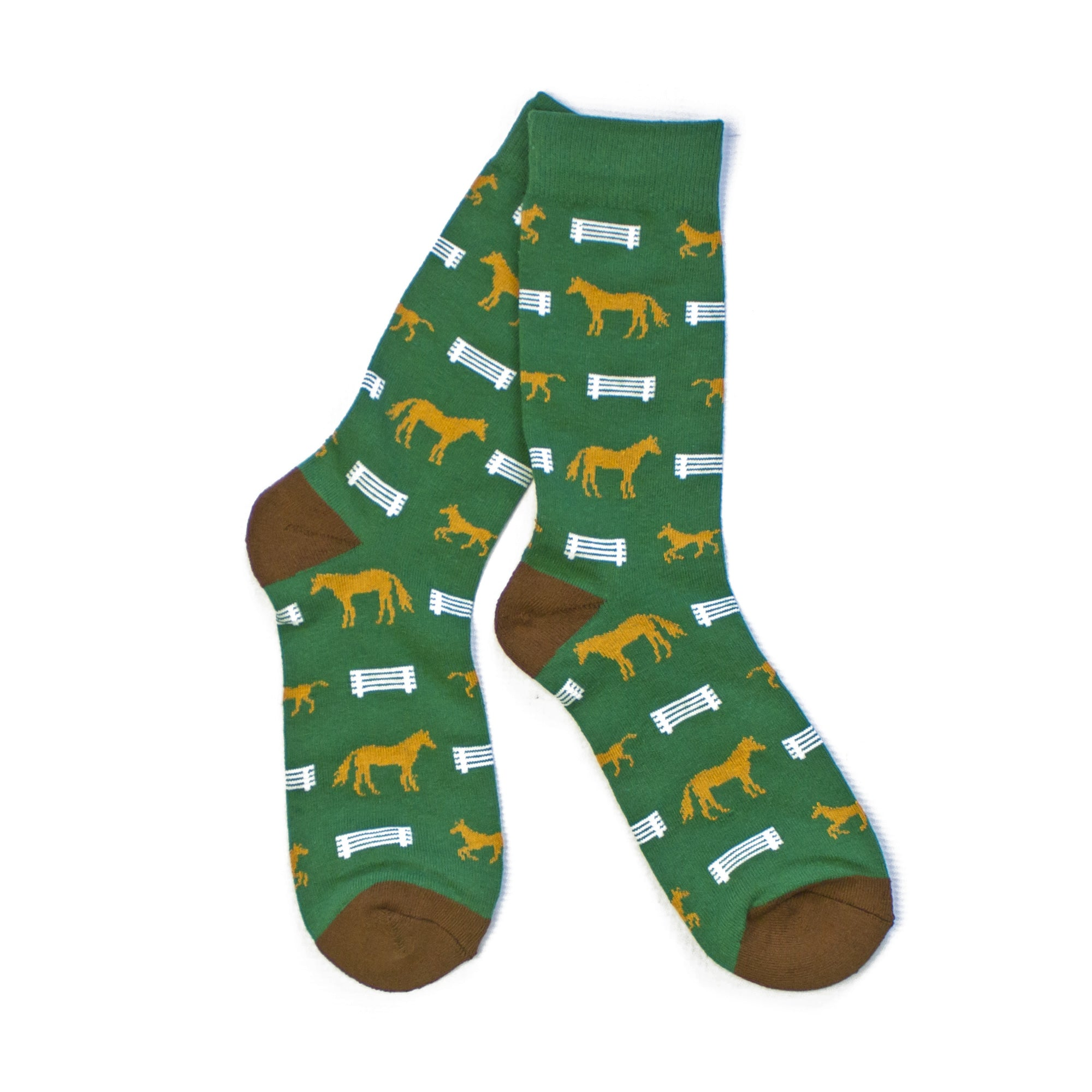 Horse Fence Socks-Socks-KY for KY Store