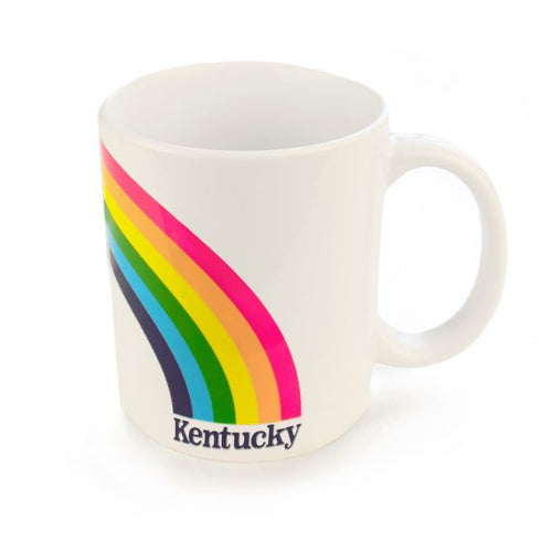 Kentucky Rainbow Coffee Mug-Odds and Ends-KY for KY Store