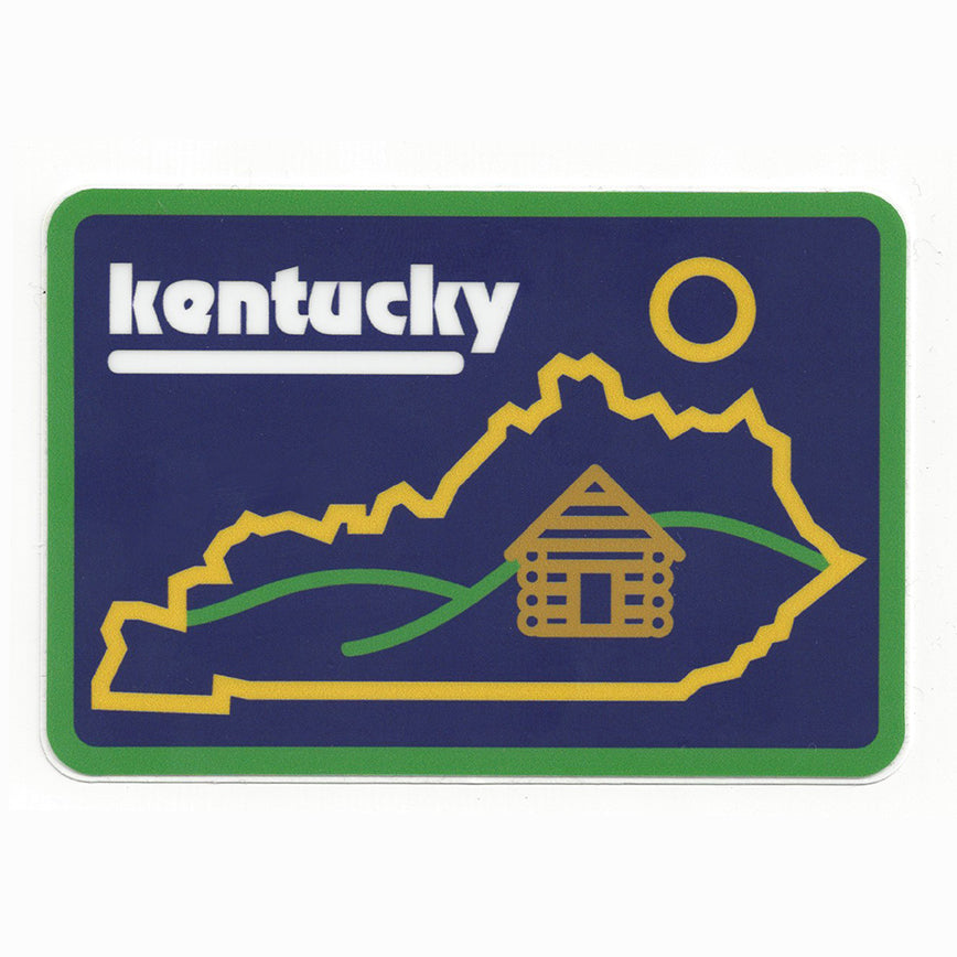 KY Cabin Sticker-Odds and Ends-KY for KY Store