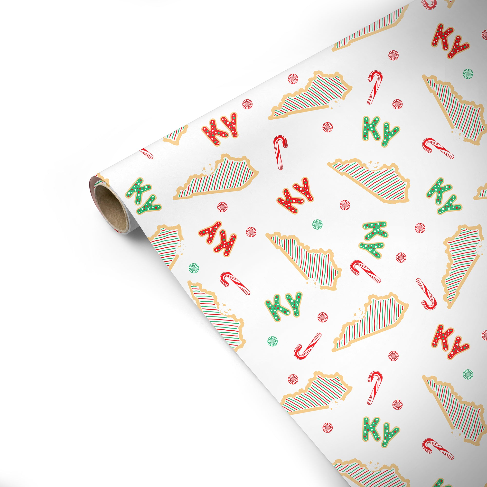 KY Christmas Cookie Wrapping Paper-Odds and Ends-KY for KY Store