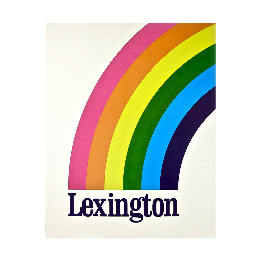 The Lexington Rainbow Print-Prints-KY for KY Store