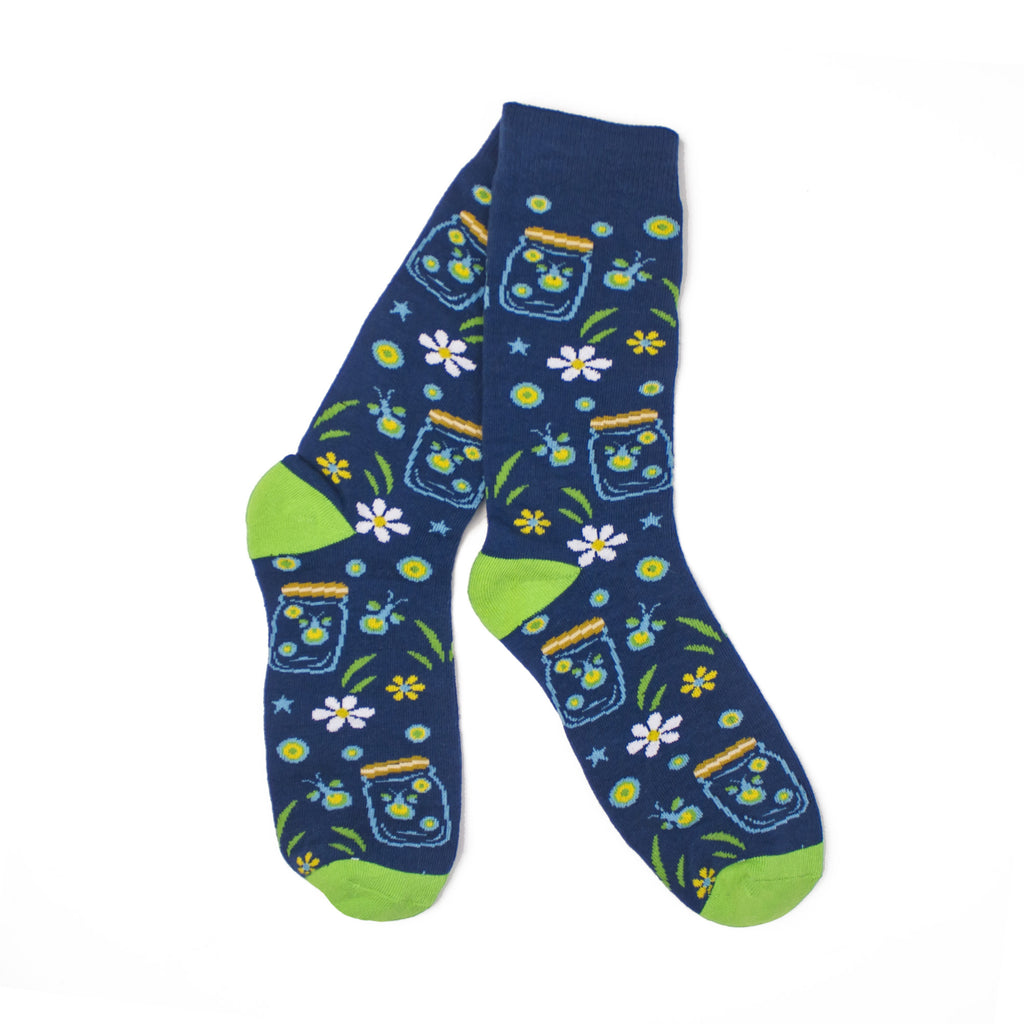 Lightning Bug Socks-Socks-KY for KY Store