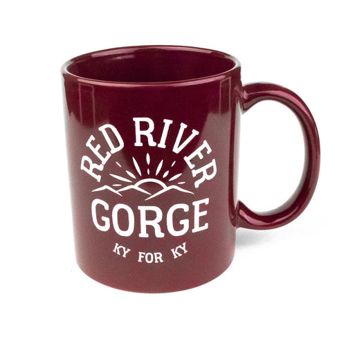 Red River Gorge Mug (Red)-Odds and Ends-KY for KY Store