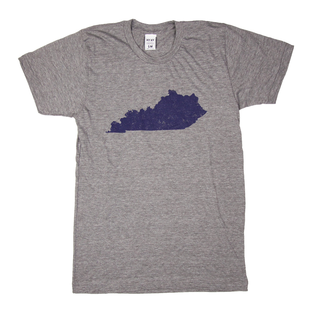 KY Shape T-Shirt (Grey)-T-Shirt-KY for KY Store