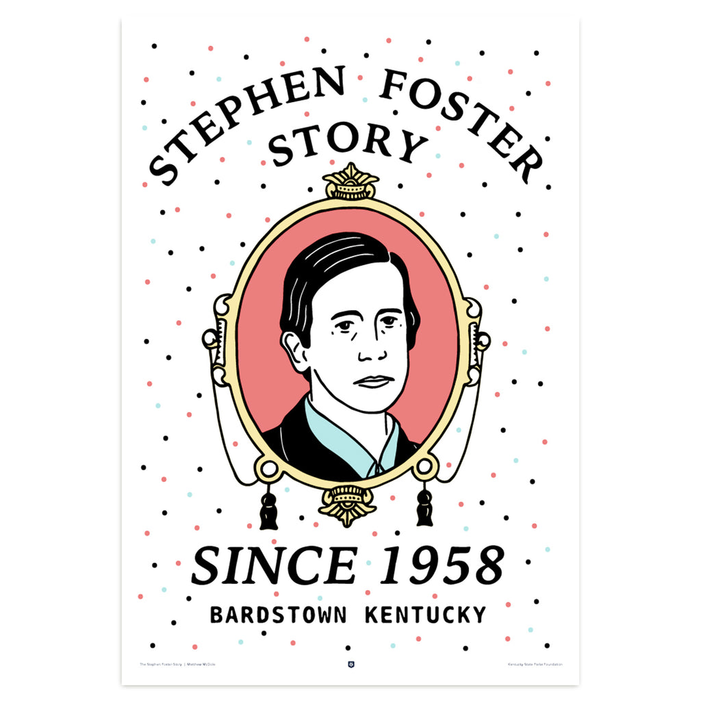 The Stephen Foster Story Poster by Matt McDole-Prints-KY for KY Store