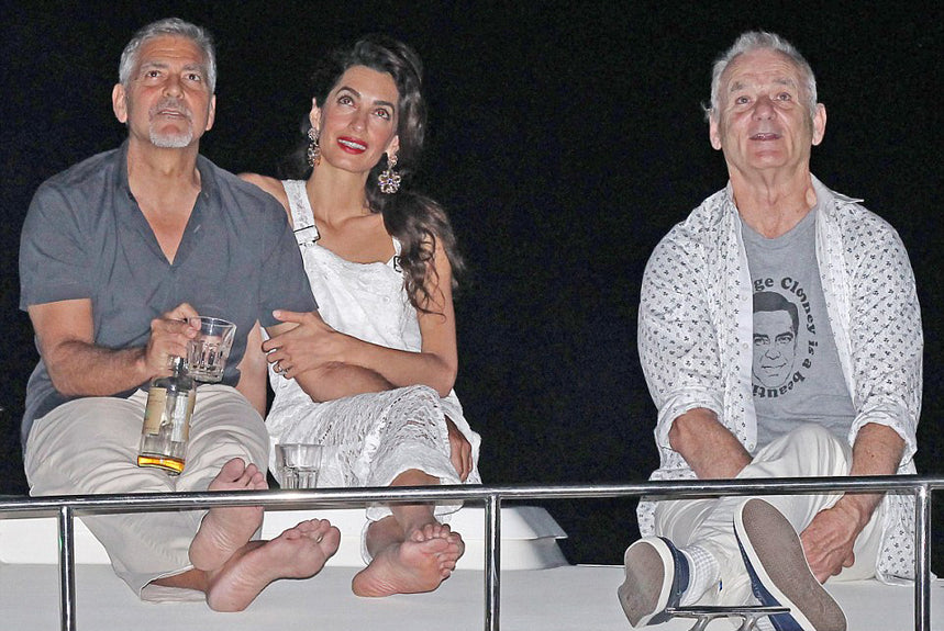 Bill Murray-Beautiful George Clooney