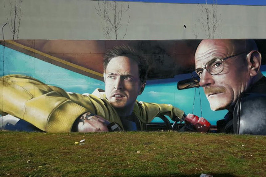 Odeith-Cynthiana mural-breaking bad
