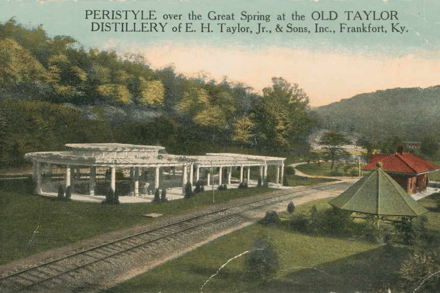 Old Taylor Distillery-peristyle