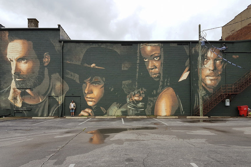Walking Dead Mural Odeith
