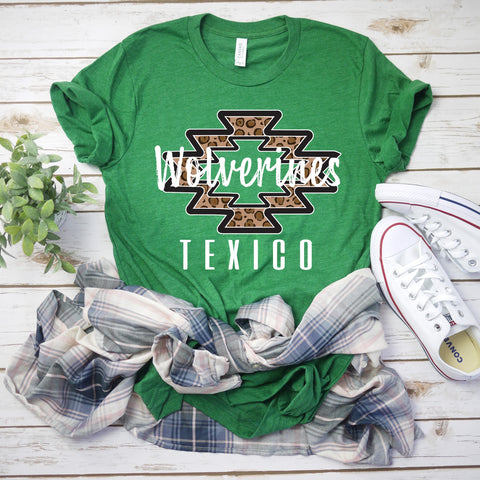 Texico Wolverines Spirit Shirt