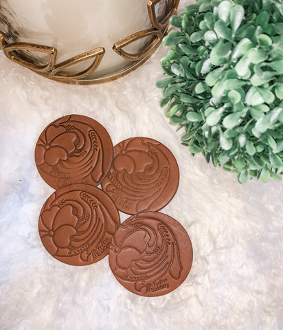 McIntire Saddlery Car Coasters