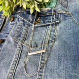 Dainty Chain + Bar