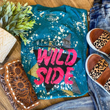 Wild Side Bleach Tee