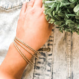 Dainty Bangle Set