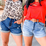 The Kenlee High Waisted Short