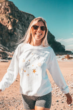 Load image into Gallery viewer, Metallic Star embroidered sweater