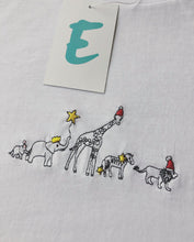Load image into Gallery viewer, organic embroidered xmas party animal tee / sweater
