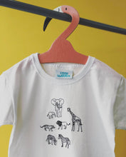 Load image into Gallery viewer, Embroidered Animal tee