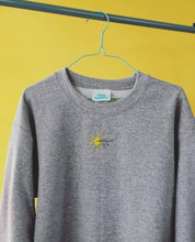 Load image into Gallery viewer, Embroidered everything will be ok sun with mini bee sleeve sweater