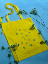 Load image into Gallery viewer, Lots of bugs embroidered tote bag