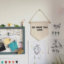 Load image into Gallery viewer, Embroidered personalised wall hanging