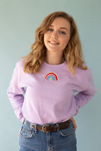 Load image into Gallery viewer, Embroidered rainbow Sweater
