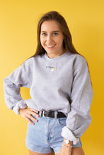 Load image into Gallery viewer, Embroidered be lovely Sweater